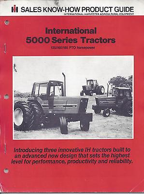 International 5000 Series Tractors Product Guide