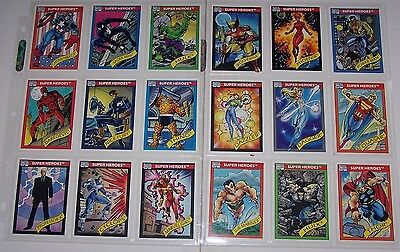 1990 Marvel Universe Series I Set With Holograms