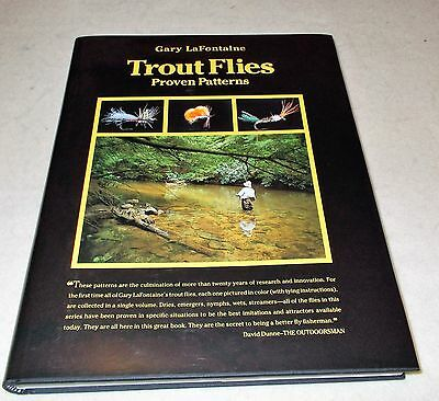 TROUT FLIES  by  Gary LaFontaine  *Signed*