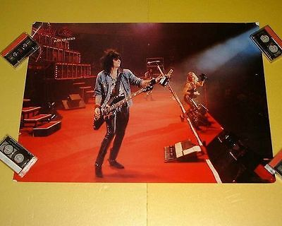 Motley Crue Japan Poster 1988 Raw Tracks