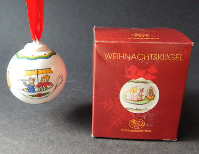 Hutschenreuther German XMAS Christmas Ball Ornament SHIP Ole Winther