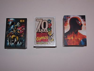 Complete Sets of Marvel 70th Anniv. Spider Man Archives and X-Men Archives