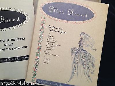 1960 Altar Bound: An Illustrated Wedding Guide Never Used Planner Original Box