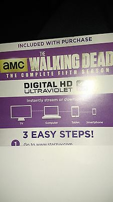 The Walking Dead Season 5 Digital HD Code only