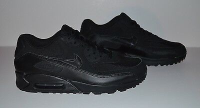 Nike Air Max 90 Essential Athletic Shoes - Men's Size 10.5 - Black