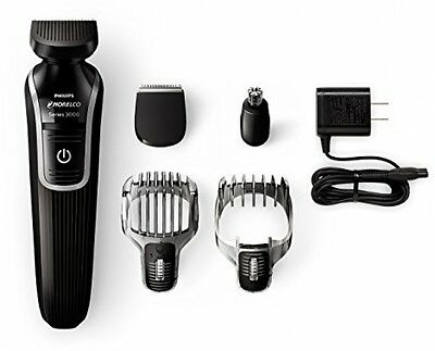 Philips Norelco Multigroom Hair Beard Trimmer Electric Shaver Series 3100