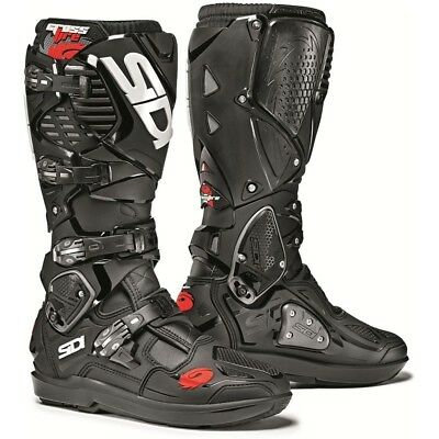 Sidi NEW Mx Crossfire 3 SRS Black Motocross Dirt Bike Enduro Euro Boots
