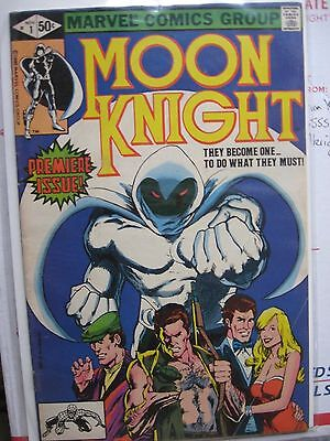 "Moon Knight No. 1 ""wow"" Chk Our 99 Cent Auct. Keys K"