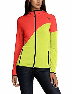 CMP - F.lli Campagnolo, Giacca in pile Donna, Rosso (Red Fluo), XS