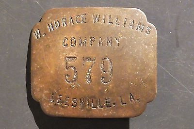 Vintage W. Horace Williams Ship Building Company Badge