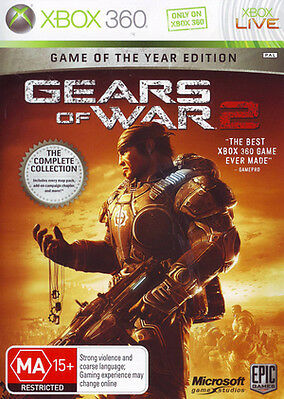 Gears of War 2 - (Microsoft Xbox 360, 2009)