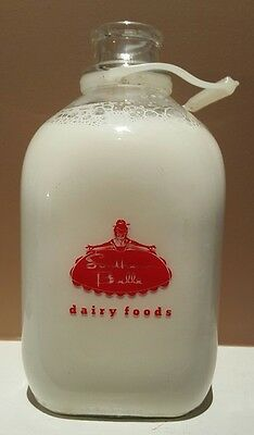 Vintage Southern Belle Dairy Foods Bottle Ky One Gallon