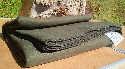 3 Lb WOOL BLANKET Throw Military Wilderness Emergency Survival Camping Shelter