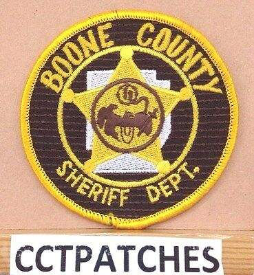 Boone County, Arkansas Sheriff (Police) Shoulder Patch Ar