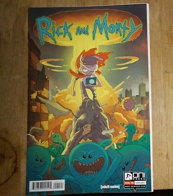 Rick and Morty #1 BAM VARIANT Books-a-million extremely rare  short print cover