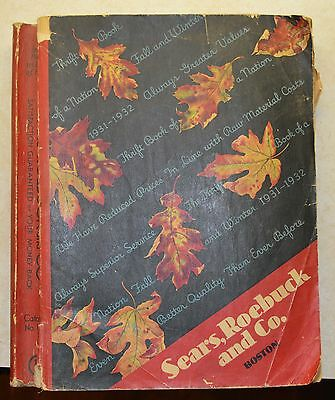 1931-32 Sears, Roebick and Co Fall and Winter Catalog NICE