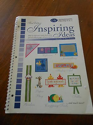 Scrapbooking/Creative Memories Inspring Ideas Book First Edition    FREE POSTAGE