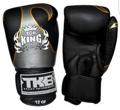 Top king Mauy Thai Boxing Gloves Empower 12oz MMA