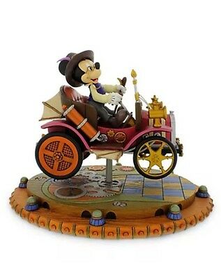 Disney Parks Mickey Car Steampunk Figurine Mechanical Kingdom NEW In Box