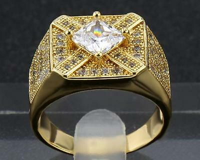 Antique Natural Diamond   Rings 1.95 Carat  In 14kt Solid Yellow Gold Size9