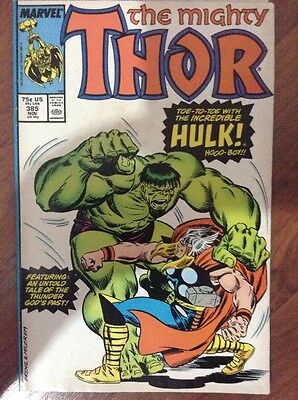 THE MIGHTY THOR LOT OF 17 MARVEL SUPERHEROES COMIC BOOKS #'s 360-421