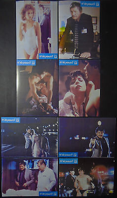 10 TO MIDNIGHT 1983 Charles Bronson 1983 COMPLETE YUGO LOBBY CARDS SET