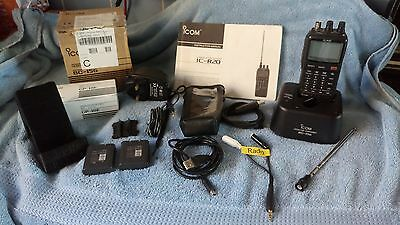 Icom Ic-R20 Communications Receiver  With Lots Of Extras