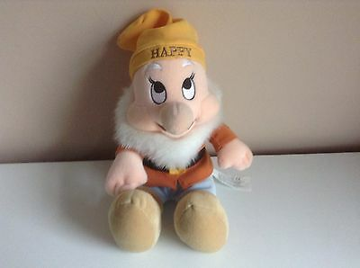 Disney's Snow White and the Seven Dwarves - 14 Inch Happy Plush