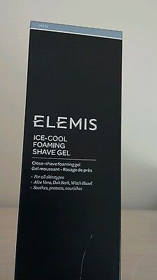 Boxed Elemis For Men Ice-Cool Foaming Shave Gel Full Size 200ml RRP £22.50