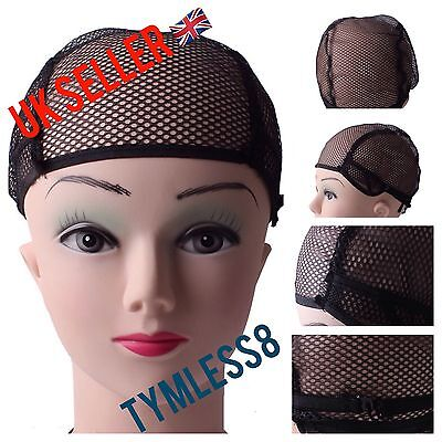 Stretchable Nylon Wig Cap For Wig Making And Weaving With Snood Breathable Mesh