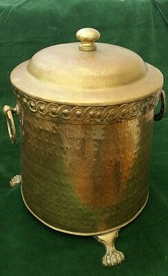 Antique copper / Brass coal Bucket