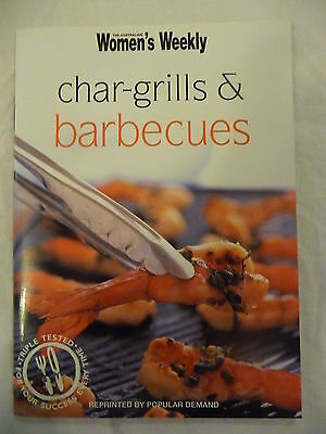 WOMENS WEEKLY  Mini Cookbook CHARGRILLS & BARBECUES EUC Free P/H