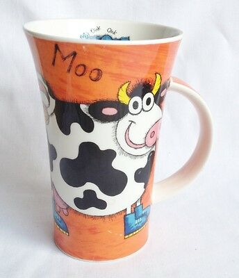 Dunoon Funky Farm Oink Oink and Moo Large Mug