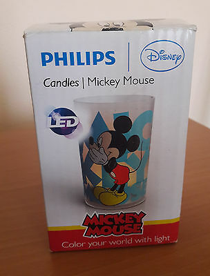 philips candles Mickey Mouse