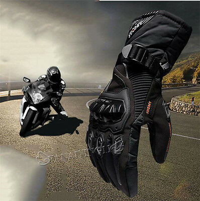 Winter Motorcycle Waterproof  Warm Rider Knight Fallhated Gloves Touch Screen