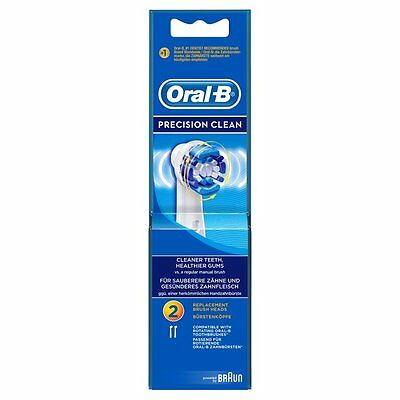 Oral-B Precision Clean Replacement Toothbrush Heads 2 per pack Genuine