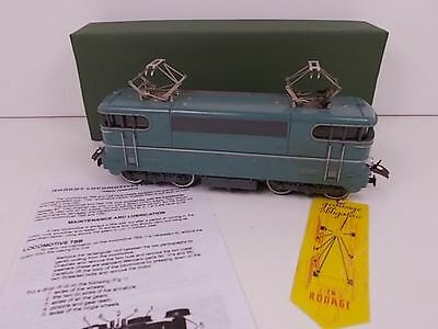 French Hornby O Gauge Electric Loco TNB (Boxed)