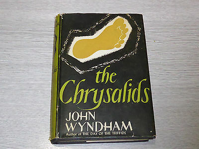 The Chrysalids by John Wyndham first edition hardback with dust jacket