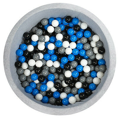 Gray Dry Pool with 200 High Quality Plastic balls For Baby Kids toy gift safe