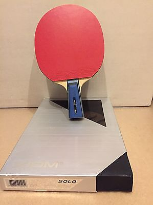 Xiom Solo CPen Table Tennis Blade With Rubbers
