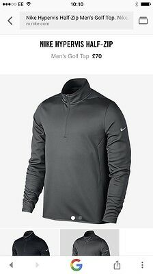 Nike Golf Therma Fit 1/2 Zip Top Size Large BNWT