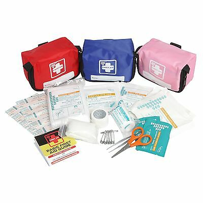 Protector PERSONAL FIRST AID KIT 30Pcs+Storage Bag *AUS Brand- Pink, Blue Or Red