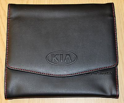 Genuine Kia Ceed Rio Soul Sportage Handbook Document Holder Folder Wallet