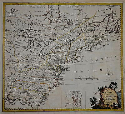 British Dominions... Drawn From The Latest Authorities By Thomas Kitchin...1780