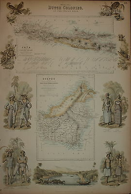 Dutch Possessions In South America And The West Indies By  Fullarton 1874.