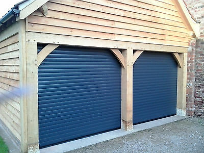Electric Insulated Roller Garage Door- Made to Measure- COMPACT 55