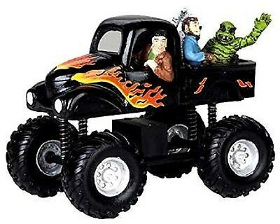 NEW Spooky Town Monster Truck Halloween Village Table Accent  #93717