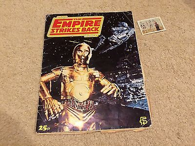 Empire Strikes Back Star Wars Sticker book