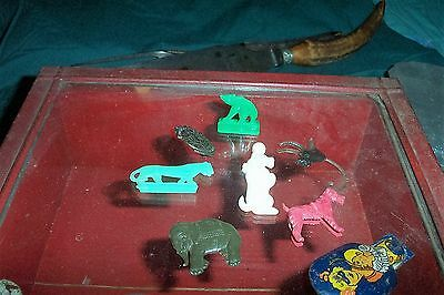 Antique Cracker Jack toys 1950`s mail in time for Chriatmas