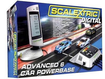 Scalextric C7042 Advanced Digital 6 Car Powerbase Brand New Box A Little Tatty